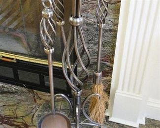 Fireplace Tools $30