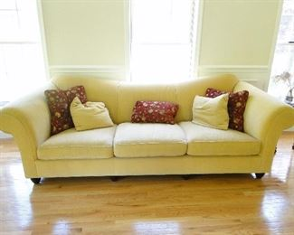 """Baker bought at Stickley Sofa $500 100x40"""""""