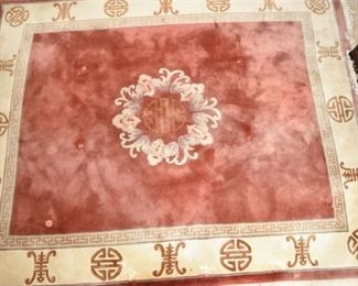10. Hand Knotted Asian Carpet