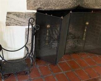 fireplace equipment screen $ 75.00
