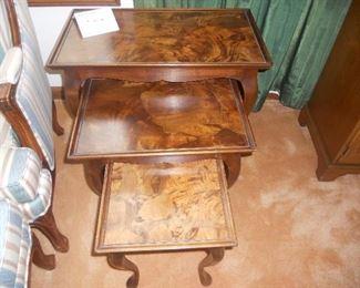 Italian nesting tables.