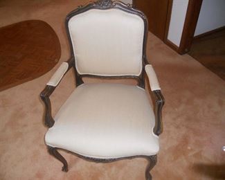 Ethan Allan chair Country French.