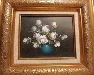 $195 Original oil. Heavy gilt frame.