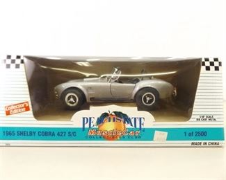 1:18 Ertl Collectibles Peach State 1/2500 1965 Shelby Cobra 427 S/C
