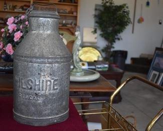 KG Wilshire Milk Can