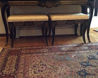 matching entry table to coffee table. 54 x16  27H --