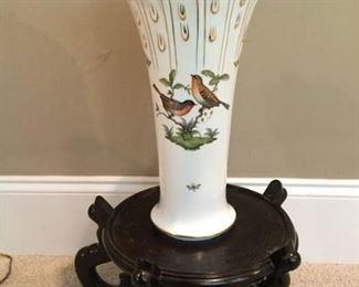 Herend Rothschild large vase