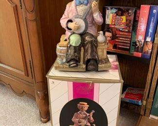 """Waco """"Dock Side Willie"""" Clown Figurine #07153!"""