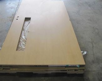 NEW 83 1/2 Inch in Length 48 Inch Width  1 3/4 Thick INDUSTRIAL Commercial  Wooden Door  HEAVY DUTY