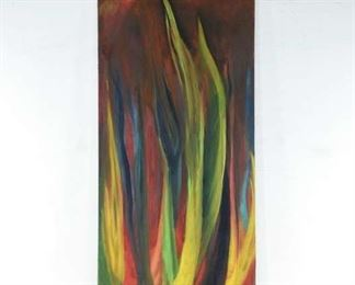 Abstract Multicolor Flames