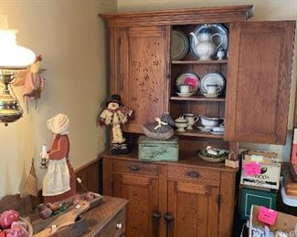 country cupboard, Mikasa stoneware china