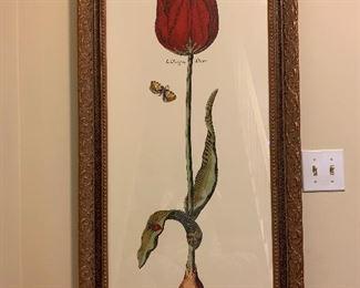 "Large botanical $150. Dimensions 23""x45"""