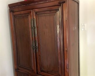 "Asian Antique Cabinet - $675                                                       68"" high x 41"" wide x 21"" deep"