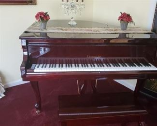 J Strauss and Son Baby Grand Piano