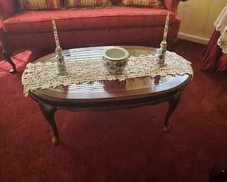 Coffee Table and Decor Pieces