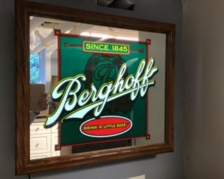 Original Berghoff  light up sign $375.00