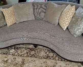 A. R. T. Furniture Crescent Sofa