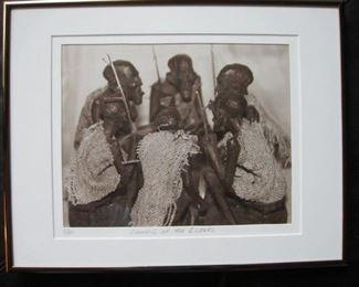 "$30 - 14 x 11"" photograph Council of Elders"