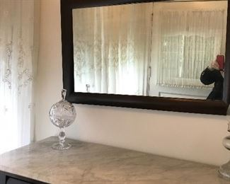 Large Antique mirror $ 125.00