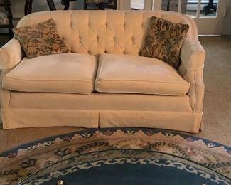 Vintage living room love seat $185.00