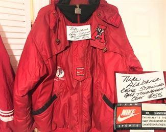 Men's XL, Nike, Alabama , Gene Stallings Golf Tournament Coat-  $55