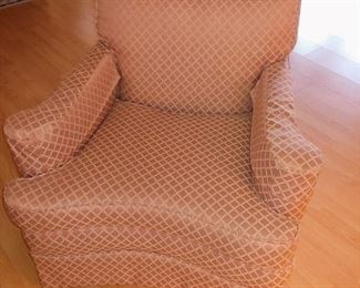 Reupholsetered Lounge Chair