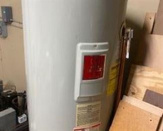One year old water heater