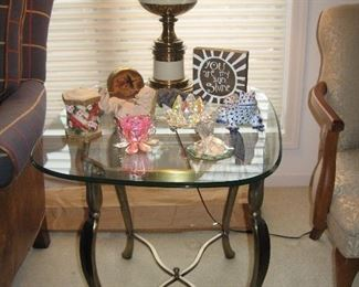 Matching End Table, Stifle Lamps, Some of the Many Extra's in this Nice Home...