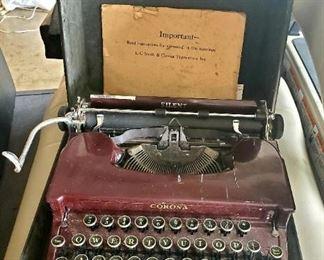 Smith Corona Silent Typewriter