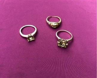 14kt ring mountings