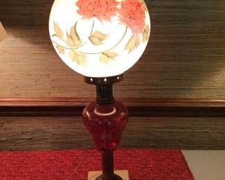 Antique Globe Lamp