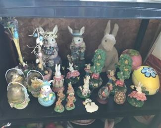 Easter items and seasonal