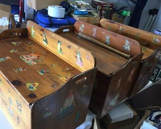 $45.00 each. 1 of 3 Vintage toy boxes