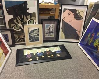 ONLINE ART & ESTATE SALE. Check back, as we are adding more great stuff. SALE IS ONLINE ONLY. We will bring out for curbside pickup.