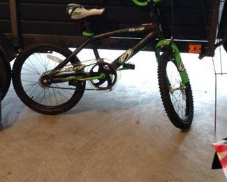 Surge race team bike