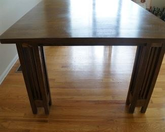 Arts and crafts table, Oak.  Very good condition.  $500.  Will consider reasonable offers.  No leaves.