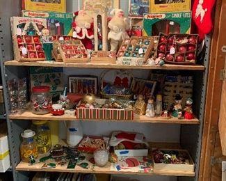 Vintage santas sold