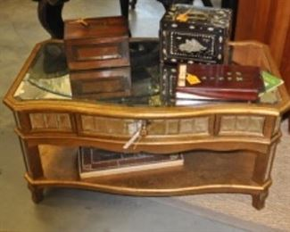 Mirrored Coffee Table Pier One $125