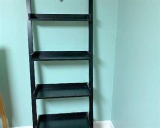 Ladder bookcase $45