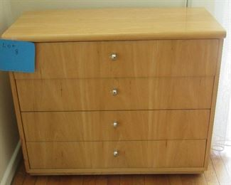 Lot 8 - Four Drawer Dresser -70.00