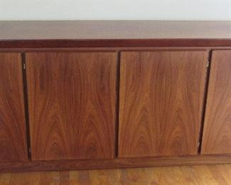 Lot 7 - Mid Century  Modern Scandinavian Walnut  Credenza Console - Amazing Condition $1450.00