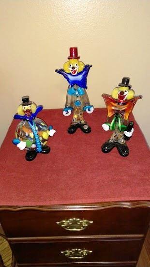 Glass Clowns