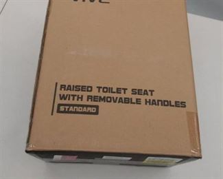 vive standard raised toilet seat with removable handles LVA1O71S