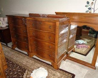 dresser w/mirror, matches bed & night stands