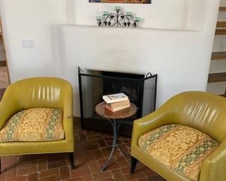 Pair of Crate and Barrel chairs