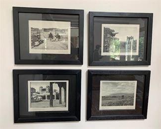 Framed historical Southwest images