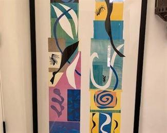 Matisse framed print