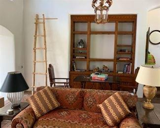 Designer Thomas Calloway down sofa