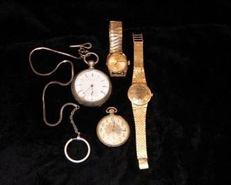 Pocket Watches & Wrist Watches