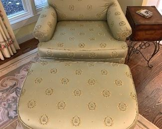 Chair and ottoman $750 excellent condition